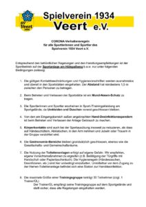 thumbnail of CORONA – Leitfaden SV Veert