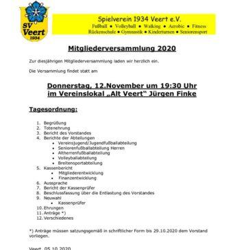 thumbnail of Einladung JHV 2020